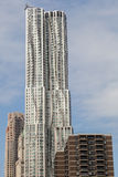 Skyscraper 8 Spruce Street designed by Frank Gehry in Manhattan, New York City Stock Photography