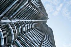 Skyscraper from street Stock Image