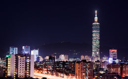 Skyscraper of Taipei Stock Photos