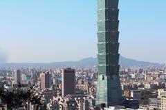 The skyscraper in Taipei ,  Taiwan. Stock Photography