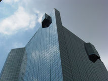 Skyscraper Top Stock Photo