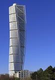 Skyscraper `Turning Torso` in Malmo, Sweden Stock Photo