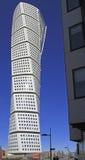 Skyscraper `Turning Torso` in Malmo, Sweden Stock Photos