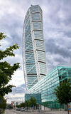 Skyscraper Turning Torso, Sweden Royalty Free Stock Images