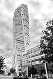 Skyscraper Turning Torso, Sweden Stock Photography