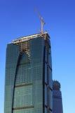 Skyscraper under construction Royalty Free Stock Image
