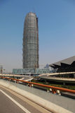 Skyscraper under construction. In zhengzhou. henan. China Stock Image