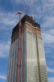 Skyscraper under construction Stock Image