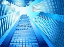 Skyscraper Urban City Stock Image