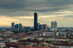 Skyscraper at Vienna (Donau-City) Royalty Free Stock Image