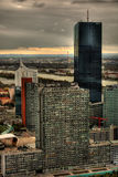 Skyscraper In Vienna HDR Stock Photos