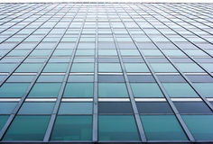 Skyscraper wall Royalty Free Stock Image