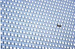 Skyscraper wall Royalty Free Stock Images