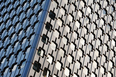 Skyscraper wall Stock Photos