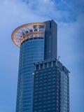 Skyscraper in the Westend of  Frankfurt, Germany Royalty Free Stock Image