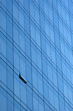Skyscraper window facade. Window facade on a skyscraper Royalty Free Stock Image