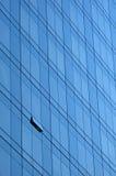 Skyscraper window facade. Window facade on a skyscraper Royalty Free Stock Image