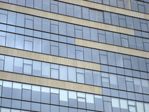 Skyscraper windows. Background of skyscraper office windows stock image