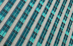 Skyscraper windows Royalty Free Stock Photography