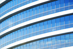 Skyscraper windows. Exterior of office building, skyscraper windows Stock Photography