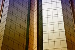 Skyscraper windows background Stock Image