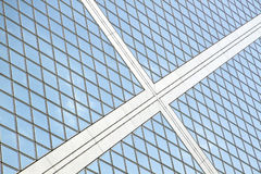 Skyscraper windows background Stock Photography