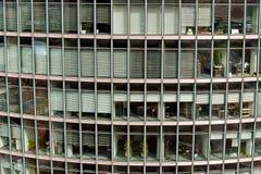 Skyscraper windows - building facade Stock Images