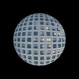 Skyscraper windows globe Stock Photos