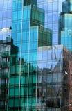 Skyscraper windows in Manhattan Royalty Free Stock Photos