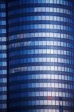 Skyscraper - Wolkenkratzer. Blue Skyscraper - blauer Wolkenkratzer mit Glasfassade stock photo