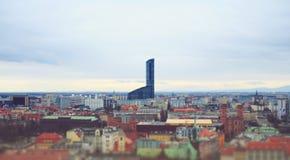 Skyscraper in Wroclaw Royalty Free Stock Photo