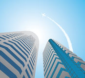 Skyscrapers - 10 Royalty Free Stock Photo