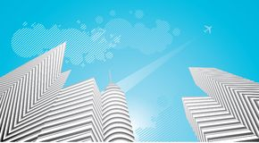 Skyscrapers Royalty Free Stock Photos