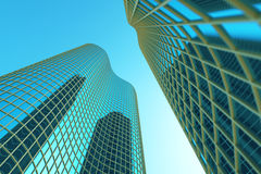 Skyscrapers Royalty Free Stock Photography