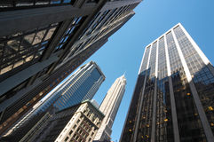Skyscrapers. In New York City stock image