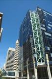 Skyscrapers. Under construction in Calgary Alberta Canada Stock Photo