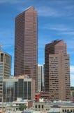 Skyscrapers. Towering over Calgary Alberta Canada Royalty Free Stock Images