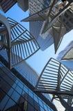 SKyscrapers. Towering over Calgary Alberta Canada Royalty Free Stock Image