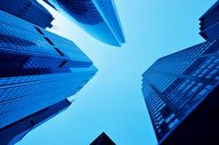 Skyscrapers. Modern buildings Stock Images
