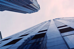 Skyscrapers. Modern buildings Stock Photography