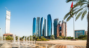Skyscrapers abu dhabi Stock Photos