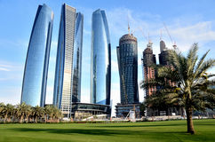 Skyscrapers in Abu Dhabi Stock Images