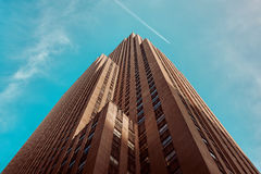 Skyscrapers against blue skies Royalty Free Stock Photo