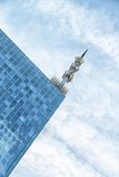 Skyscrapers against blue sky Royalty Free Stock Photo