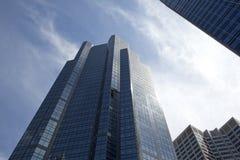 Skyscrapers in Alberta, Canada Stock Image