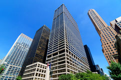 Skyscrapers along Park Avenue. Featured here are some of the many skyscrapers to be found along Park Avenue within the midtown area of Manhattan Stock Photo