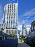 Skyscrapers of Austin Texas. Skyscrapers in downtown Austin TX Stock Photos