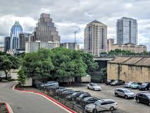 Skyscrapers in Austin Texas Royalty Free Stock Image