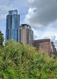 Skyscrapers of Austin Texas Stock Photography