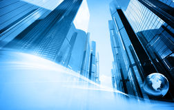Skyscrapers background Royalty Free Stock Photo
